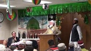 Pir Muhammad Amin ul Hasnat Shah at Masjid Noor-ul-Huda in Bronx, NY - October, 2010