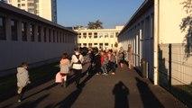 Mobilisation à l'école P.-et-M.-Curie