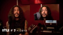 Cover de In The End de Linkin park chantée en imitant 20 artistes.