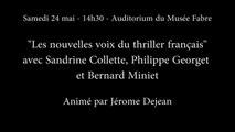 Comédie du Livre 2014 - Nouvelles voix du thriller français