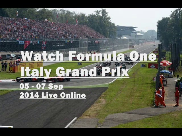 live Formula One Italy racing