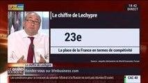 Emmanuel Lechypre : Compétitivité: la France reste à la 23ème place dans le classement du World Economic Forum - 03/09