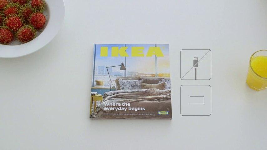 Ikea parodie une pub Apple avec le BookBook