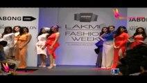 Hot Diana Penty Walks The Ramp @ Lakme Fashion Week 2014 !