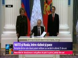 NATO și Rusia, între război și pace. Relațiile dintre cele două puteri militare au oscilat în ultimii 25 ani.