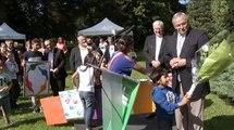 Inauguration de la Maison de l'enfance à Moulins-les-Metz