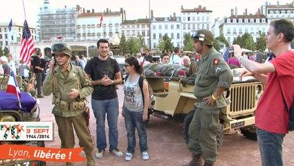 Retour sur les 70 ans de la Libération de Lyon