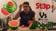 1 Man, 6.5Kg di Anguria!! [St3p Vs Food]