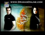 Janay Kyun Full Last Episode 19 by Ary Digital 4th September 2014 - Junaid Khan - Sumbul Iqbal