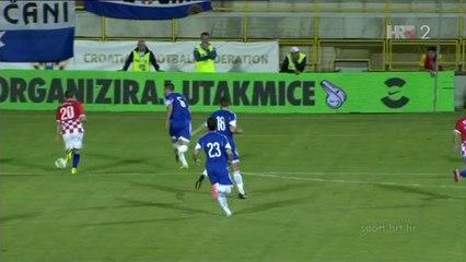 Гол Марио Манджукич · Хорватия - Кипр - 2:0