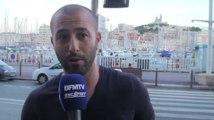 Football / Les suporters marseillais soutiennent Bielsa - 04/09