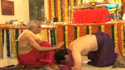 Jitendra and Tusshar on Ganpati Puja