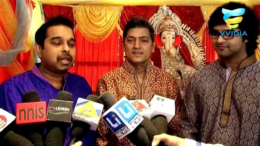 Shankar Mahadevan and Aadesh for Ganpati