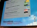 Conférence UIQ 3GSM Barcelone 4