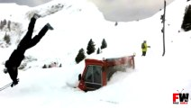 Skier Jump Over Truck Fail - Fails World