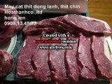 Máy thái lát thịt chín, máy thái thịt đông lạnh, máy thái lát chả, máy thái thịt nguội