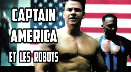 Captain America et les Robots