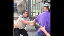 BMX Riders VS Mall Security Guards : violent fight!