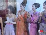 """Raffaella Curiel"" Spring Summer 2006 Haute Couture Rome 7 of 7 by Fashion Channel"