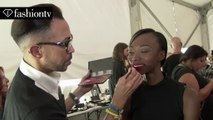 Carmen Marc Valvo Hair & Makeup | New York Fashion Week NYFW Spring/Summer 2015 | FashionTV