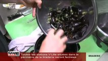 Qui dit braderie, dit moules frites! (Lille)