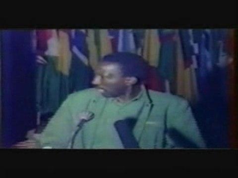 Discours de THOMAS SANKARA a ADDIS ADEBA