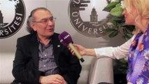 ÖZLEM YILMAZ, PROF DR NEVZAT TARHAN, SUNUCU ÖZLEM YILMAZ