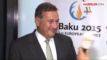 """Avrupa Olimpiyat Komitesi Komisyonu Başkanı Spyros Capralos"""" Bir Sonraki Avrupa Oyunları..."""