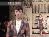 """Alena Akhmadullina"" Spring Summer 2006 Paris 1 of 2 by Fashion Channel"