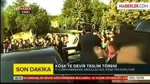 Abdullah Gül'ün Köşk'teki Tüm İzleri Silindi