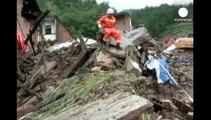 Inde, Pakistan et Chine sous des pluies torrentielles: plusieurs centaines de morts et blessés
