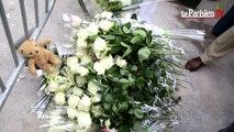 Intense émotion lors de la marche blanche en hommage aux victimes de Rosny