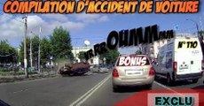 Compilation d'accident de voiture n°110 / Moto crash compilation 110