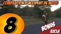 Compilation d'accident de moto n°8 + Bonus / Moto crash compilation 8