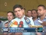 Sucre preparado para desalojo de preventivo en Santa Cecilia