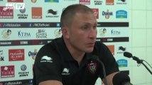 """Rugby / Mignoni : """"Se remettre la tête à l'endroit - 06/09"""