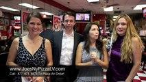Pizza Las Vegas   Best Pizza in Las Vegas   Joe's New York Pizza Reviews pt. 6