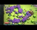 Clash of clans 300 Golems 300 Giants mass Gameplay August 2014