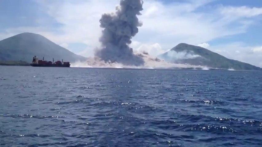 Videoya Kaydedilen Volkan Patlamasına ve Yaydığı Şok Dalgasına İnanamayacaksınız!