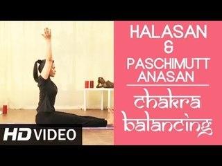 Chakra Balancing Yoga [HD] - Halasan & Paschimuttanasan