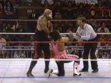Bret Hart vs Papa Shango WWF - Saturday Night's Main Event