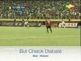 But de Cheick Diabaté lors de Mali - Malawi