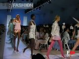 """""""Custo Barcelona"""" Spring Summer 2005 3 of 3 New York Pret a Porter by Fashion Channel"""
