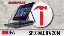 IFA 2014 - ASPIRE R13 CONVERT, nuovo Notebook/Tablet Acer