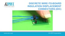 How to Insert a Wire into an IDC Using a Hand Insertion Tool