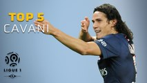 Edinson Cavani - Top 5 Buts  - Ligue 1 / Paris Saint-Germain