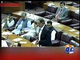 Pervez Rasheed condemns Geo Closure-Geo Reports-08 Sep 2014