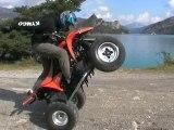 Stuntquad Vintage Inédit  (Road Trip Dans Les Alpes été 2006)