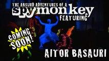 "(TEASER) ""WE ARE IDIOTS - the Absurd Adventures of a Spy Monkey"" - A FOOL'S IDEA - PRESENTS: Aitor Basauri"
