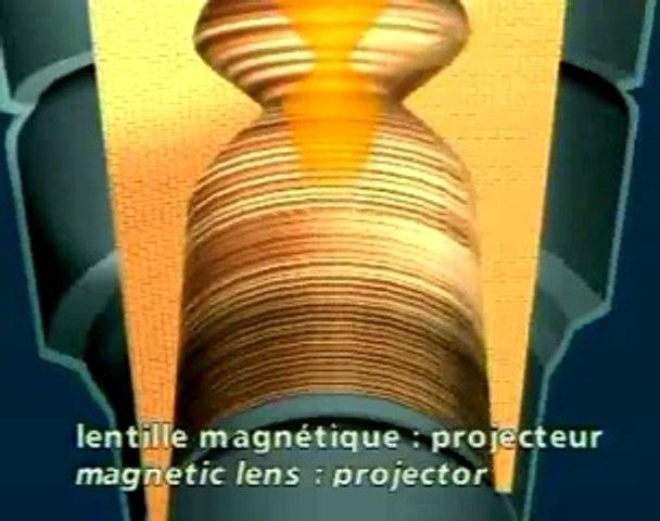 Le microscope électronique à transmission Siemens, 1973